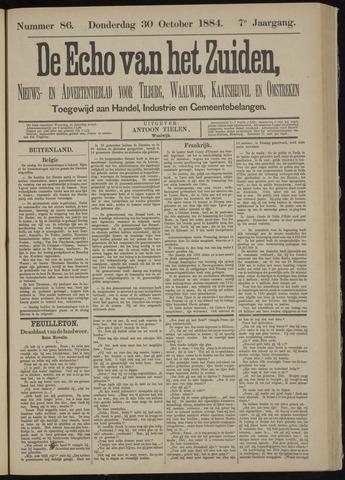 Echo van het Zuiden 1884-10-30