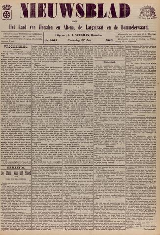 Nieuwsblad het land van Heusden en Altena de Langstraat en de Bommelerwaard 1910-07-27