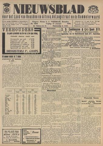 Nieuwsblad het land van Heusden en Altena de Langstraat en de Bommelerwaard 1930-01-17
