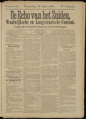 Echo van het Zuiden 1895-04-25