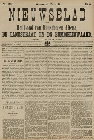 Nieuwsblad het land van Heusden en Altena de Langstraat en de Bommelerwaard 1885-07-22
