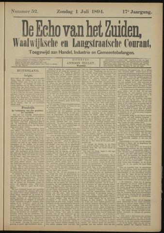 Echo van het Zuiden 1894-07-01