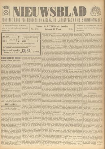 Nieuwsblad het land van Heusden en Altena de Langstraat en de Bommelerwaard 1918-03-30