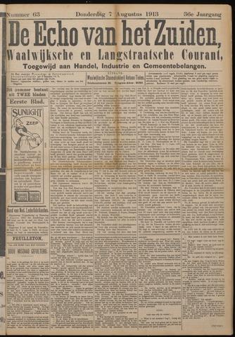 Echo van het Zuiden 1913-08-07