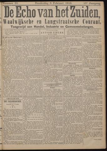 Echo van het Zuiden 1906-02-08