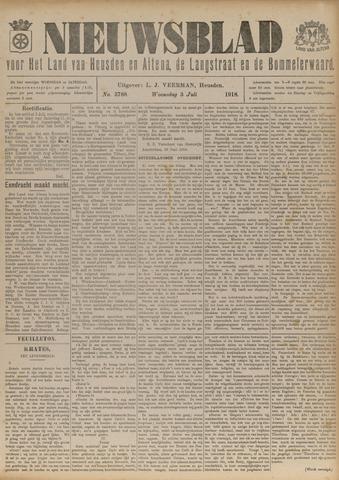 Nieuwsblad het land van Heusden en Altena de Langstraat en de Bommelerwaard 1918-07-03