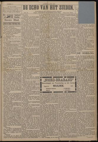 Echo van het Zuiden 1918-04-14