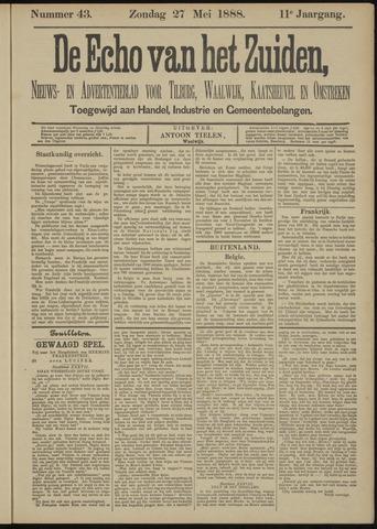 Echo van het Zuiden 1888-05-27