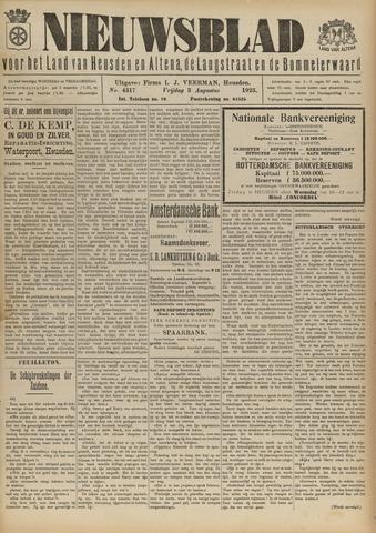 Nieuwsblad het land van Heusden en Altena de Langstraat en de Bommelerwaard 1923-08-03