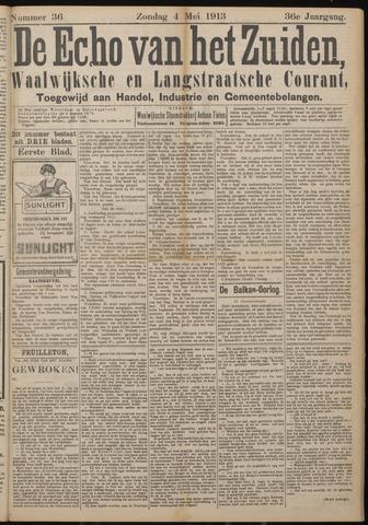 Echo van het Zuiden 1913-05-04