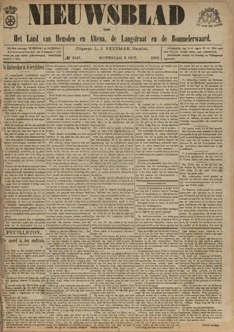 Nieuwsblad het land van Heusden en Altena de Langstraat en de Bommelerwaard 1901-10-02