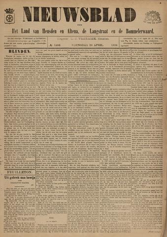 Nieuwsblad het land van Heusden en Altena de Langstraat en de Bommelerwaard 1896-04-29