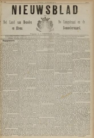 Nieuwsblad het land van Heusden en Altena de Langstraat en de Bommelerwaard 1891-02-11