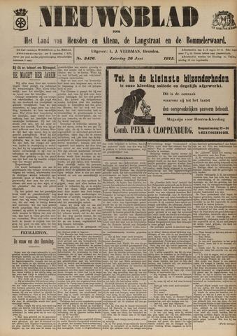 Nieuwsblad het land van Heusden en Altena de Langstraat en de Bommelerwaard 1915-06-26