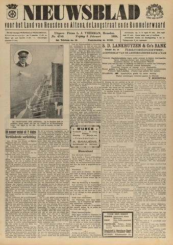 Nieuwsblad het land van Heusden en Altena de Langstraat en de Bommelerwaard 1928-02-03