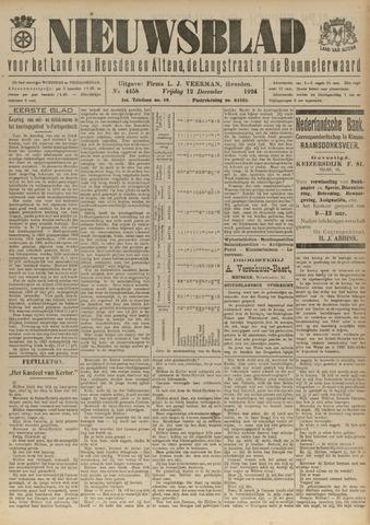 Nieuwsblad het land van Heusden en Altena de Langstraat en de Bommelerwaard 1924-12-12