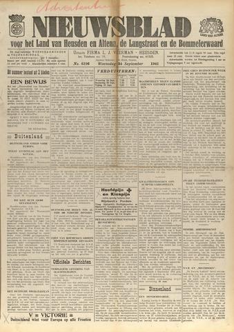 Nieuwsblad het land van Heusden en Altena de Langstraat en de Bommelerwaard 1941-09-24