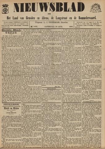 Nieuwsblad het land van Heusden en Altena de Langstraat en de Bommelerwaard 1901-08-10