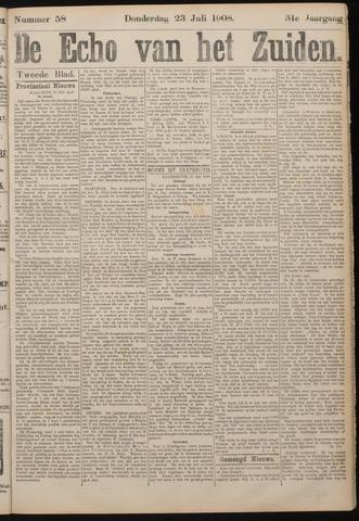 Echo van het Zuiden 1908-07-23