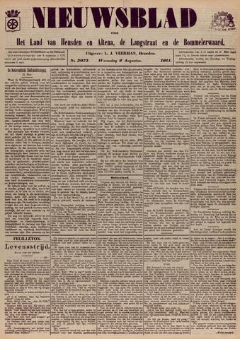Nieuwsblad het land van Heusden en Altena de Langstraat en de Bommelerwaard 1911-08-09