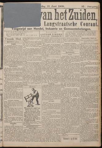 Echo van het Zuiden 1908-06-21