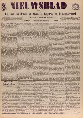 Nieuwsblad het land van Heusden en Altena de Langstraat en de Bommelerwaard 1906-12-15