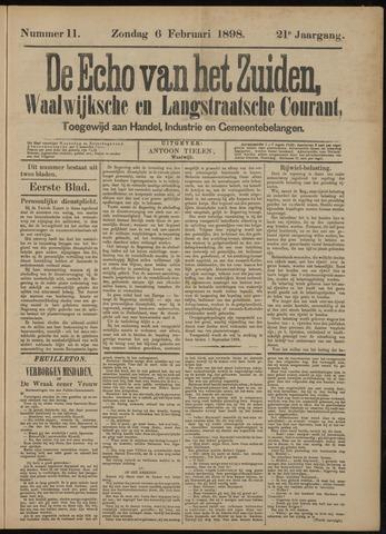 Echo van het Zuiden 1898-02-06