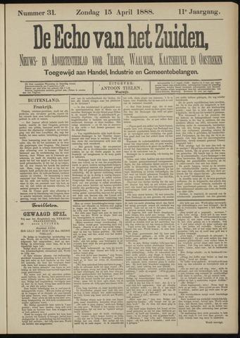 Echo van het Zuiden 1888-04-15