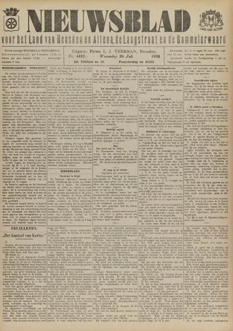 Nieuwsblad het land van Heusden en Altena de Langstraat en de Bommelerwaard 1924-07-30
