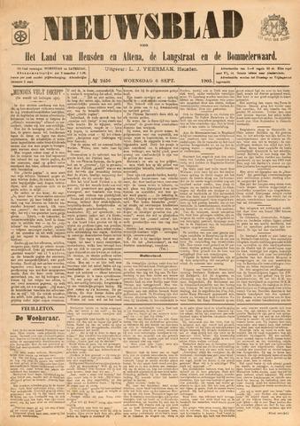 Nieuwsblad het land van Heusden en Altena de Langstraat en de Bommelerwaard 1905-09-06