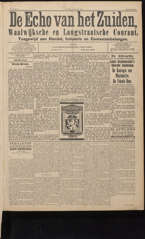 Echo van het Zuiden 1926-07-10