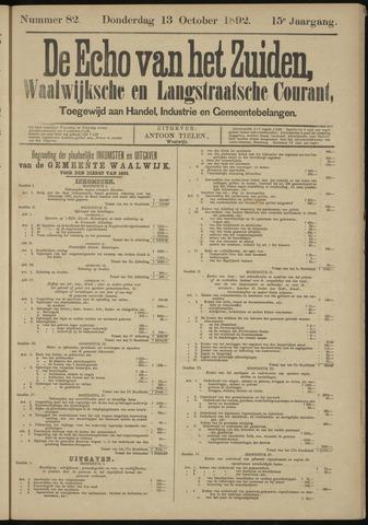 Echo van het Zuiden 1892-10-13