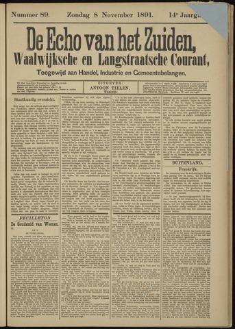 Echo van het Zuiden 1891-11-08