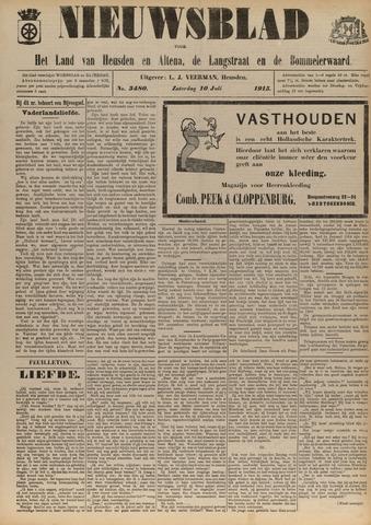 Nieuwsblad het land van Heusden en Altena de Langstraat en de Bommelerwaard 1915-07-10