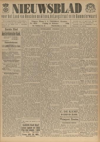 Nieuwsblad het land van Heusden en Altena de Langstraat en de Bommelerwaard 1924-02-15