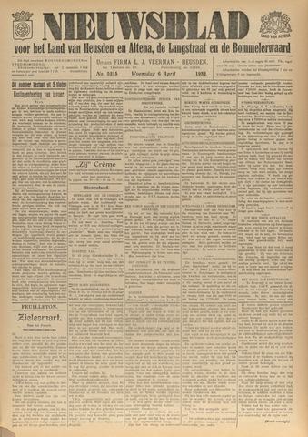 Nieuwsblad het land van Heusden en Altena de Langstraat en de Bommelerwaard 1932-04-06