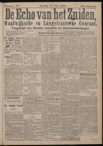 Echo van het Zuiden 1915-07-11
