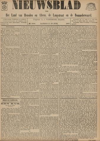 Nieuwsblad het land van Heusden en Altena de Langstraat en de Bommelerwaard 1897-06-19