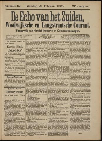 Echo van het Zuiden 1898-02-20