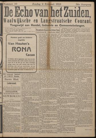 Echo van het Zuiden 1913-02-02