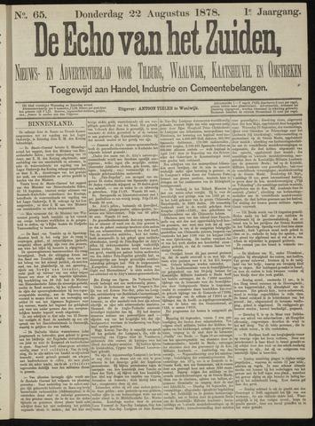 Echo van het Zuiden 1878-08-22