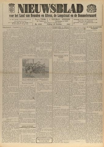 Nieuwsblad het land van Heusden en Altena de Langstraat en de Bommelerwaard 1943-10-29