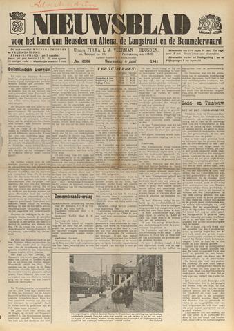 Nieuwsblad het land van Heusden en Altena de Langstraat en de Bommelerwaard 1941-06-04