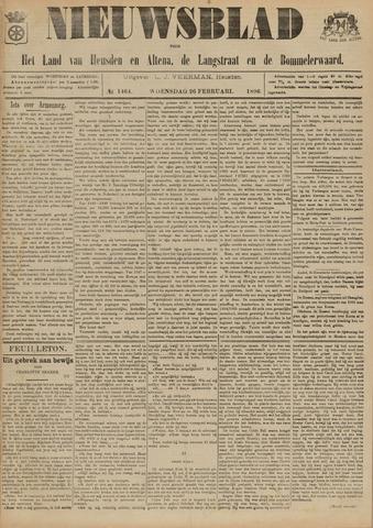 Nieuwsblad het land van Heusden en Altena de Langstraat en de Bommelerwaard 1896-02-26