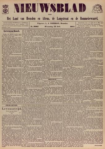 Nieuwsblad het land van Heusden en Altena de Langstraat en de Bommelerwaard 1911-07-12