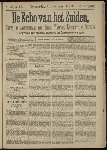 Echo van het Zuiden 1884-02-14