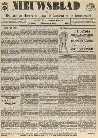 Nieuwsblad het land van Heusden en Altena de Langstraat en de Bommelerwaard 1913-06-04