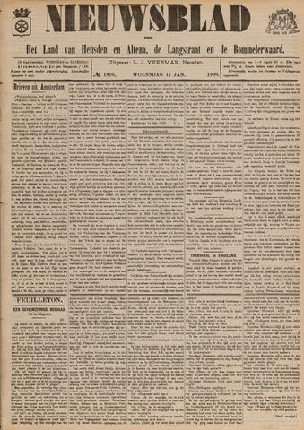Nieuwsblad het land van Heusden en Altena de Langstraat en de Bommelerwaard 1900-01-17