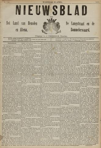 Nieuwsblad het land van Heusden en Altena de Langstraat en de Bommelerwaard 1891-04-29
