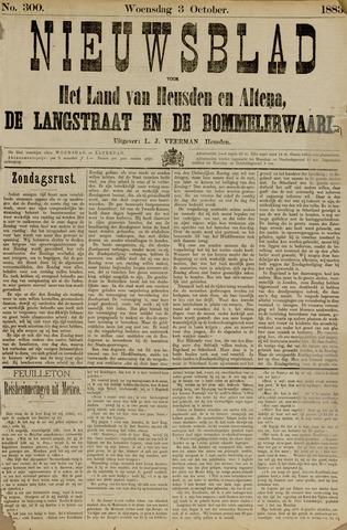 Nieuwsblad het land van Heusden en Altena de Langstraat en de Bommelerwaard 1883-10-03